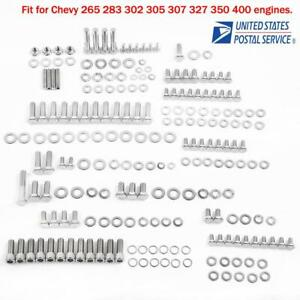 Engine Repair Tool Hex Bolt Kit For Chevy 265 283 302 305 307 327 350 400 Us