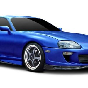 For Toyota Supra 93 98 Rd X Style Fiberglass Wide Body Front Fenders Unpainted