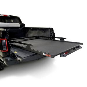 For Chevy Colorado 15 20 Bedslide 1000 Series Black Edition Bed Slide W Rails
