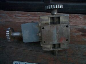 Lathe Milling Table Mount Post 1950s Atlas Tool Part x And Y Swivel drill Press