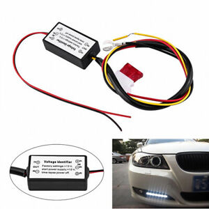 Car Led Daytime Running Light Drl Control On Off Automatic Dimmer Relay Light Mo