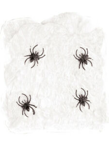 FR Giant Spider Web Webbing Scary Horror Halloween Haunted House Decoration