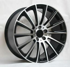 19 Wheels For Mercedes Cl550 Cl600 Cl63 Cl65 staggered 19x8 5 9 5