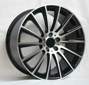 18 Wheels For Mercedes C Class Coupe C250 300 350 C63 Staggered 18x8 5 9 5