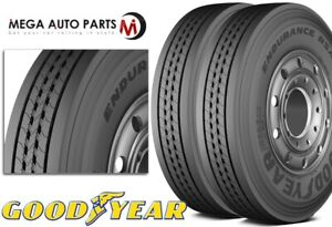2 New Goodyear Endurance Rsa Rs a Lt215 85r16 115 112q Commercial Truck Tires