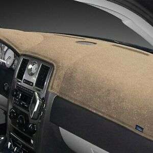 For Dodge Ram 2500 06 08 Dash Topper Plush Velour Vanilla Dash Cover