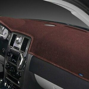 For Dodge Ram 2500 02 Dash Topper Plush Velour Dark Brown Dash Cover