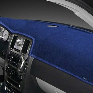 For Fiat Strada 79 81 Dash Designs Dash Topper Plush Velour Dark Blue Dash Cover