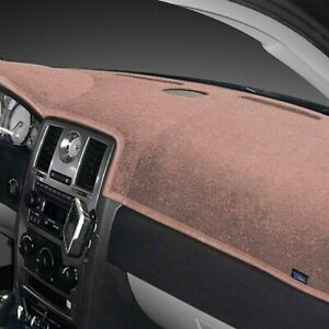 For Fiat Strada 79 81 Dash Topper Plush Velour Light Taupe Dash Cover
