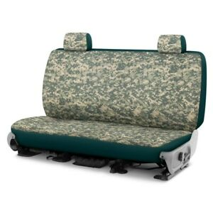 For Dodge Ram 1500 Van 97 03 Camo 2nd Row Digital Green Custom Seat Covers
