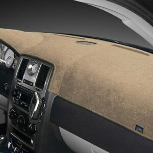 For Ford Galaxie 500 65 66 Dash Designs Plush Velour Vanilla Dash Cover