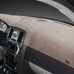 For Ford Galaxie 500 65 66 Dash Designs Plush Velour Mocha Dash Cover