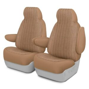 For Chevy Tahoe 95 99 Scottsdale 1st Row Sandstone Custom Seat Covers