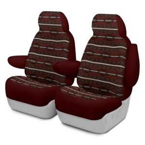 For Chevy Tahoe 03 06 Southwest Sierra 1st Row Maroon Custom Seat Covers