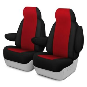 For Toyota Pickup 89 94 Neosupreme 1st Row Red W Black Custom Seat Covers