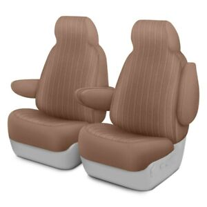 For Chevy Tahoe 95 99 Dorchester Velour 1st Row Toast Custom Seat Covers
