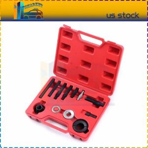 Pulley Puller And Installer Power Steering Pump Remover Alternator 12pc Kit