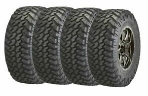 33x12 50r18lt F 122q Set 4 Nitto Trail Grappler Mud Terrain Tires 32 8 33125018