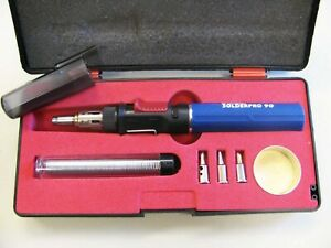 Iso tip Pro 90 Butane Soldering Iron Torch Kit Model 9010