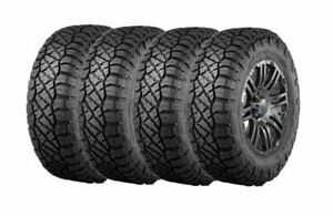 Lt295 70r17 E 121 118q Set 4 Nitto Ridge Grappler Hybrid Terrain Tires 2957017
