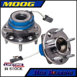 Moog Set Front Wheel Bearings For Pontiac Grand Prix Buick Cadillac Deville Dts