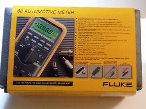Fluke 88 Kit Automotive Multimeter Combo Kit Brand New