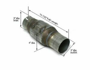 Slp Performance High flow Catalytic Converter 3 In out Each 301134001