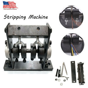 Manual Wire Stripping Machine Cable Peeling Stripper Metal Recycle Tool 1 30mm