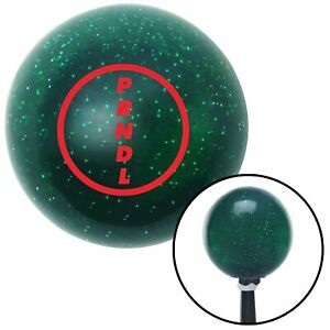 Red 2 Speed Green Metal Flake Shift Knob With 16mm X 1 5 Insert Drag Race Ratrod