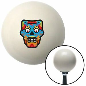Mask Red Ivory Shift Knob With 16mm X 1 5 Insert Parts Wrecker 426 Camper Ktm