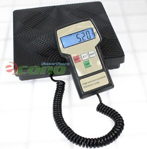 220lb Digital Hvac A c Weight Scale For Charging Recovery Refrigerant Gas