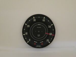 Tachometer Dial Face Plate New Smiths Brand Fits Daimler Sp250 Rn2409 00