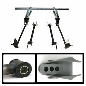 Triangulated Rear 4 link W Coilovers 36 1936 Ford Model 48 Convertible Custom