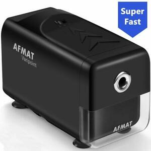 Afmat Electric Pencil Sharpener Heavy Duty Commercialindustrial Pencil Sharpen