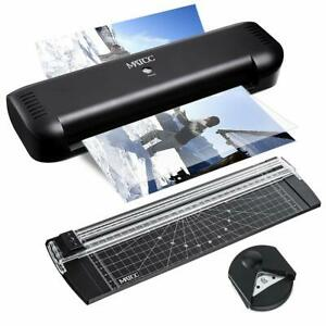Matcc Thermal Laminator A4 Paper Cutter And Corner Rounder 9inches Max Laminatio