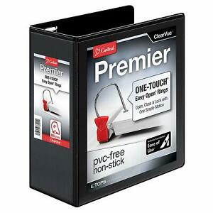 Cardinal Premier Easy Open 3 ring Binder 4 One touch Easy Open Locking Slant