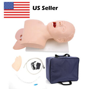 Intubation Manikinstudyteaching Model Airway management trainers Pvc with Teeth