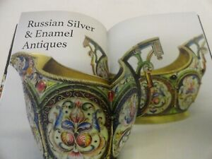 Antique Russian Silver Enamel Faberge Moscow Illustrated Catalog 2019