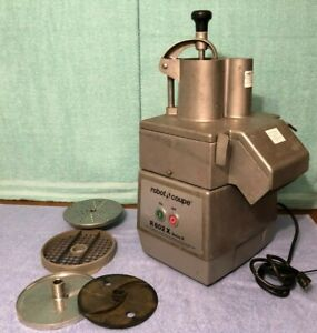 Robot Coupe R 602 X Series E Commercial Food Processor With 3 Hp Motor R602x
