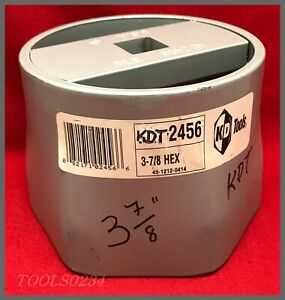 K D Tools 2456 Truck Wheel Bearing Nut Socket 3 7 8 6 Point