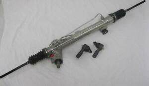 New Mustang Ii 2 Power Steering Rack Pinion Street Rod W Bushings And Tie Rods