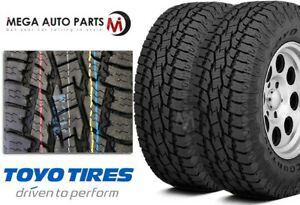2 Toyo Open Country A t Ii Xtream Lt255 80r17 121r All Terrain Truck Tires