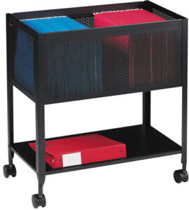 Rolling Filing Cabinet Home Office Storage Organizer Casters Wheels Rollaway New