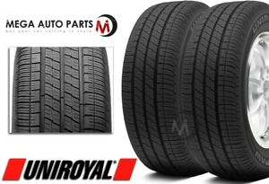 2 Uniroyal Tiger Paw Touring 225 50r17 94t All Season Performance Tires