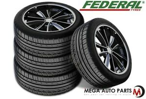 4 New Federal Couragia F X 235 55zr19 105w All Season On Off Road Suv Tires