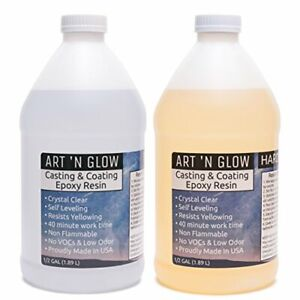 Clear Casting And Coating Epoxy Resin 1 Gallon Kit