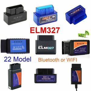Elm327 Obd Can Bus Bluetooth Or Wifi Car Auto Diagnostic Interface Scanner Sk