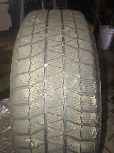 2 215 60 16 95h Bridgestone Blizzak Ws 80 Snow Tires 8 9 32