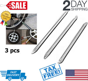 3pcs Tire Remover Iron Set Tyre Change Kit Removal Tools For Motorcycle Bike