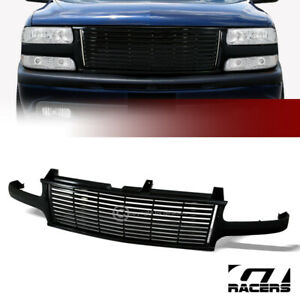 For 2000 2006 Chevy Tahoe suburban Black Horizontal Front Bumper Grille Cover